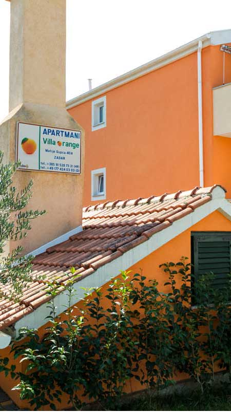 Villa-orange apartman banner